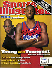 Darius Miles SIGNED Sports Illustrated FULL LA Clippers PSA/DNA AUTOGRAPHED