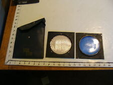 Vintage Film /  Camera item: Packet of 2 lenses, blue and clear