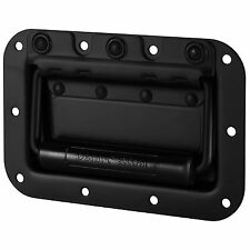 Penn-Elcom H7154K Spring Flex Cabinet Handle Black