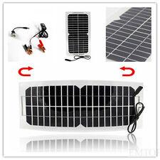 Solar zelle 10W  praktisch  Solarmodul usb  flexibel motor powerbank &12v akku