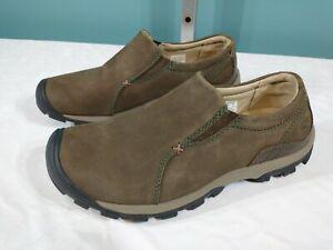 KEEN Sisters Leather Slip-On Women's (Size 8) Walking Hiking Cascade Brown