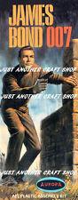 AURORA James Bond 1966 Streamer VOLANTINO POSTER Pubblicità opuscolo sign-RISTAMPA