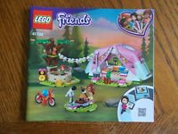 Lego Friends 41392 Nature Glamping INSTRUCTION MANUAL ONLY