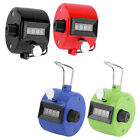 4 Digit Hand Held Tally Counter Manual Palm Clicker Number Counting Golf 4 Color
