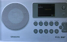 Sangean DPR-16C Portable Digital Radio Clock Radio (WHITE) - Brand New In Box