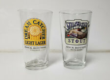 Beer Pint Glass Rock Bottom Brewery Dream Catcher & Still Water Stout lot of 2