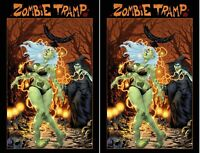 ZOMBIE TRAMP ONGOING #65 AOD COLLECTABLES EXCLUSIVE CASTANEDA COVER SET OF 2