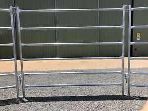 Horse Cattle Yard Panel 2mm Thick Steel - Portable Yards Round Yard
