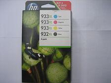Original Set c2p42ae Officejet 7612 WF CMJN 1x HP 932xl blk+no.933xl-ovp mhd2019