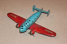 Vintage 1930's Wyandotte Pressed Steel Defense Bomber Toy Plane