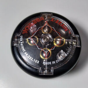 Yomega Yo-Yo X-Brain Auto Return Vintage RARE Black 1999 Bandai