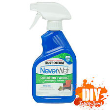 NeverWet Never Wet Rust-Oleum Outdoor Fabric Waterproof Coating Spray Treatment