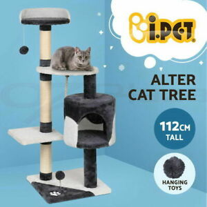 Cat Scratching Post Tall Tree House Scratcher Condo Furniture Tower Large