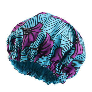 Ankara Pattern Kids Bonnet Night Sleep Cap Boy Girls India Turban Hat Headwrap
