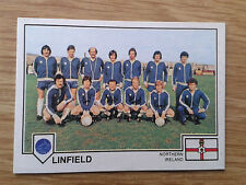 Linfield Team Panini Euro 79 Sticker