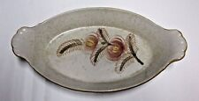 Very Rare Chatham Pottery Stoneware Serving Dish