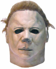 Halloween ll MICHAEL MYERS ADULT LATEX DELUXE MASK COSTUME Haunted House NEW