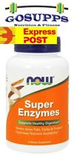 Now Foods Super Enzymes 90 180 Capsules Supports Healthy Digestion