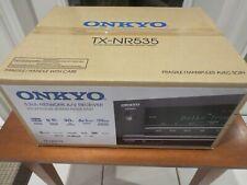 Onkyo TX-NR535 5.2CH 500W 4K Network Home Theater Bluetooth A/V Receiver -- NEW!