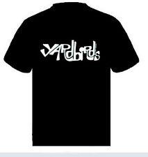 Yardbirds LOGO  Music punk rock t-shirt  S-M-L- XL -XXL NEW