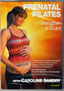 PRENATAL PILATES The PREGNANCY Pregnant STANDING Mat WORKOUT Video on a DVD of &