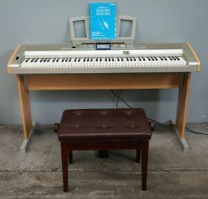 Yamaha DGX-505 Portable Digital Grand Piano W/ Stand, Sustain Pedal & Seat