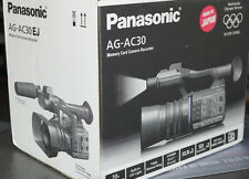 Panasonic AG-AC30EJ Camcorder Schwarz