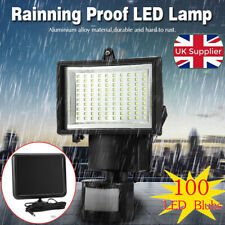 Outdoor Solar Power Motion Sensor Garden Floodlight LED PIR Security Light save