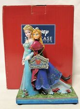 """Frozen """"Sisters Forever"""" Disney Showcase Collection Enesco Musical Figurine"""