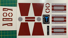 Custom Replacement Stickers for Lego Star Wars Republic Frigate 7964