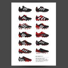 Adidas Predator Football Boot Poster 1994-2015 - Soccer Print-Mania-Accelerator