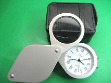 CHASS WATCH LUPE QUARTZ  MVT UNISEX WHITE DIAL & ROMAN NUMBERS 58.50 MM X 69.MM
