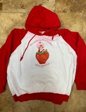 Vintage Strawberry Shortcake Hoodie Xl