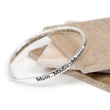 Message bangle, Mother in any Language, Imperfect Item-Small Bubble on Bangle