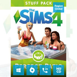 The Sims 4 Perfect Patio Stuff Pack DLC for PC Game Origin Key Region Free