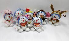 Collectible Lot of 7 McDonalds Doraemon Plush Toys Lucky Charms Zodiac Last One!