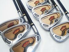 Left-handed 2star HONMA BERES IS-01 7pc R-Flex IRONS SET Golf Clubs inv 7138