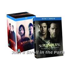 Supernatural: Jensen Ackles TV Series Complete Seasons 1-11 Box / BluRay Set(s)