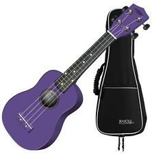 DISCOUNT CC STRINGS US-100 VT Ukulele violett Set+ Tasche Gigbag Schüler