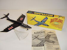 Vintage Original 1966 Aurora Batman Robin Batplane Model Kit 487-98 - Kid Built