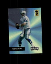 DALLAS COWBOYS TROY AIKMAN 1993 PLAYOFF CONNECTIONS #283 (A)