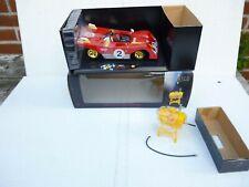 Shell Classico Ferrari 312 P von 1972 in 1:18 mit passendem Shell-Tankfass dazu!
