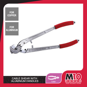 """M10 CABLE CUTTER / SHEAR WITH ALUMINIUM HANDLES 32"""""""