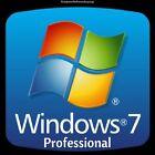 Windows 7 Professional Pro 32/64 Bit Genuine License Product Key Serial Scrap PC