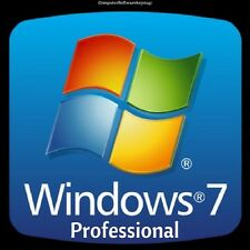 Windows 7 Professional Pro 32/64 Bit Genuine License Product Key Serial Scrap PC