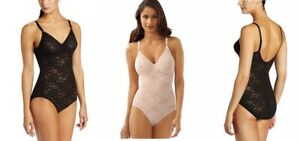 Bali Women's Firm Tummy-Control Lace N Smooth Body Shaper 34C  8L10