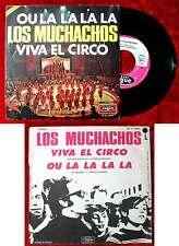 Single Los Muchachos: Viva El Circo (Vogue 45 V 4005) Spanien 1971