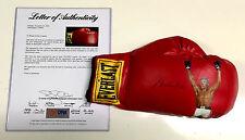 Muhammad Ali Signed Everlast Painted Boxing Glove Jolene Jessie Uda Psa/Dna Loa