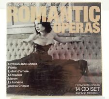 The World's Most Romantic Operas (CD, Nov-2010, 14 Discs, BRV)