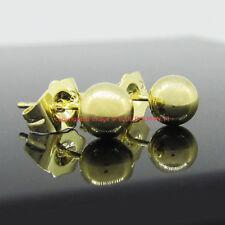 Butterfly Fastening Yellow Gold Filled Fine Earrings